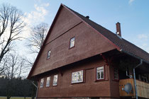 Außenansicht ehemaliges Gasthaus St. Georgsritter