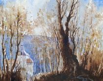 Herbstwald in Kriebstein