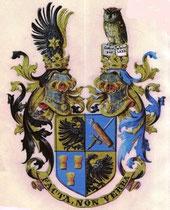 Wappendarstellung des Ritter Schierl von Moorburg