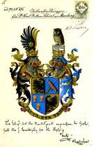 Adelswappen des Ritter Schierl von Moorburg