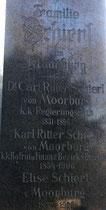 Grab der Fam. Ritter Schierl von Moorburg in Wien
