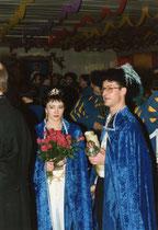 Bernd I. & Valentina I. - Prinzenpaar 1993/ 1994