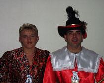 Klaus I. & Uschi I. - Prinzenpaar 1999/ 2000
