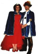 Wolfgang I. & Iris I. - Prinzenpaar 1998/ 1999