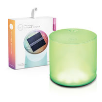 Luci multi coloured inflatable solar powered