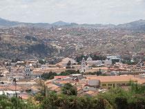 Sicht über Sucre