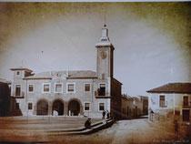 La Mairie de Pedro Muñoz, 1960.