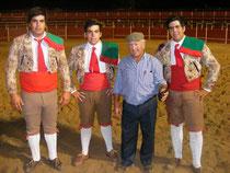 Luis Faustino, Manuel Cardoso, Snhr.Domingos Faustino, e João Cardoso