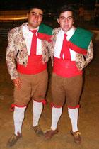 David Palmeiro e Manuel Cardoso