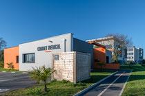 Photographie architecture - Cabinet médical à Saint-Nazaire - Loire Atlantique -  reportage photographique réalisé pour POUTIER ARCHITECTURES