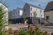 Photographie architecture - Immobilier d'entreprise - Commerce à Saint-André-des-Eaux - Loire Atlantique - Reportage pour SONADEV