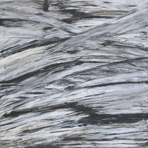 """Bruch"", Acryl auf Baumwolle, 100 x 100 cm"