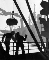 """""""An Bord""""  Paul Friedrichsen  Orig. Handschnitt"""