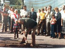 Einweihung der Gartenanlage Kleingärtnerverein Brühl e.V. am 26.9.1983 - 3