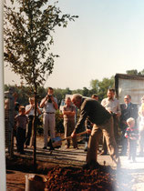 Einweihung der Gartenanlage Kleingärtnerverein Brühl e.V. am 26.9.1983 - 5