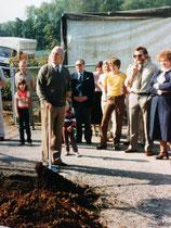 Einweihung der Gartenanlage Kleingärtnerverein Brühl e.V. am 26.9.1983 - 2