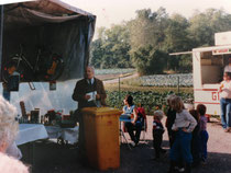 Einweihung der Gartenanlage Kleingärtnerverein Brühl e.V. am 26.9.1983 - 1
