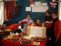 Marché de Noël 2012 pour financer les voyages