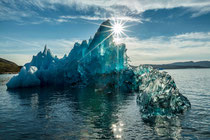 Blauer Eisberg bei Narsaq