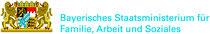Unser Projekt Interkick wird vom bayerischen Staatsministerium für Familie, Arbeit und soziales gefördert