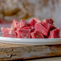 Rindermuskelfleisch durchwachsen 1000g