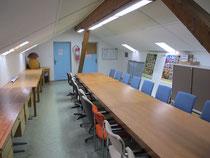 Unser Vereinslokal nach dem Herbstputz