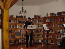 Lesung mit musikalischer Begleitung in Remsfeld