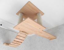Deckenabhängung Raumerweiterung, Hängebrücke und Laufbrett