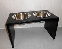 Hundefutterbar schwarz, sehr edel
