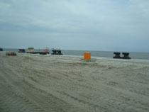 Kaikante, Anlegen für die Containerschiffe