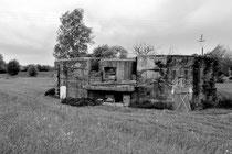 Erbaut von der Reserve-Pionier-Kompanie 81 im Juli 1917 (Aubers)