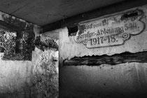 Innenansicht einer Blinklichtstelle  (Tagsdorf / Sundgau)