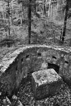 MG-Stellung (Hartmannsweilerkopf / Vogesen)