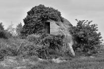 Ehemals als Haus getarnter Beobachtungsstand (Aubers)