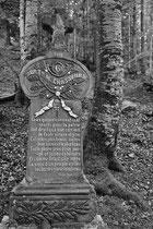 Frz. Grabdenkmal (Hartmannsweilerkopf / Vogesen)
