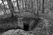 Geschützstellung (Nähe Feldbach / Sundgau)