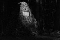 Denkmal eines aufgelösten Friedhofs (Hartmannsweilerkopf / Vogesen)