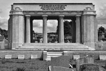 Restauriertes Denkmal in Sedan