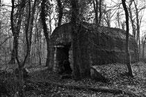 Unterstand für Munition (Sentier á Burnhaupt / Sundgau)