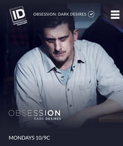 "Played the lead role, Richard in Obsession: Dark Desires - Ep 4.6: ""A Man and His Gun"""