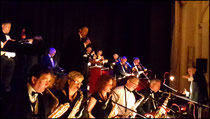 Performing Live with the fabulous Clefhangers Orchestra