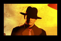 """Another still of me playing the lead role in this Award Winning Film Noir, """"Fach Trottel"""""""