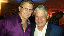Miss Saigon's 25th Anniversary star studded after party. This man, Sir Cameron Mackintosh, made it all possible.