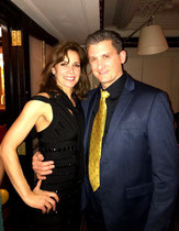 A Quick Photo in London with the Lovely and Talented Darcey Bussell