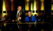 Performing at Beaufort Bar at The Savoy London 2015