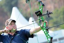 Reo Wild World Archery  Topstar  war auch in Yankton für die NFAA