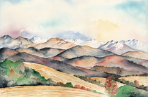 Panorama aquarelle 31X41