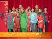 """Unter dem Motto """"Fairreisen"""" machte eine Gruppe des Weltladen Bad Schallerbach Anfang 2008 eine Projektreise nach Indien und Bangladesch, um einige Fair-Trade Projekte zu besuchen."""