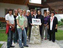Das Team des Weltladen Bad Schallerbach beim Klausurtag in Schleglberg (29. Mai 2010)