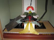 2012床飾り 寿蓬莱飾り